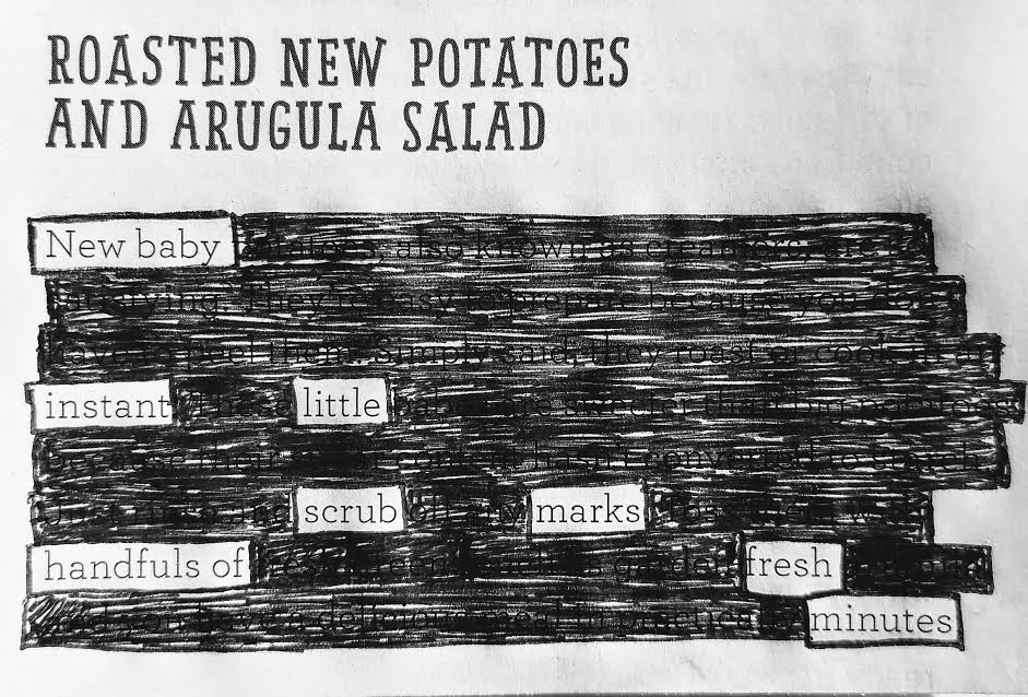 'Roasted New Potatoes and Arugula Salad' by Jenny Wong